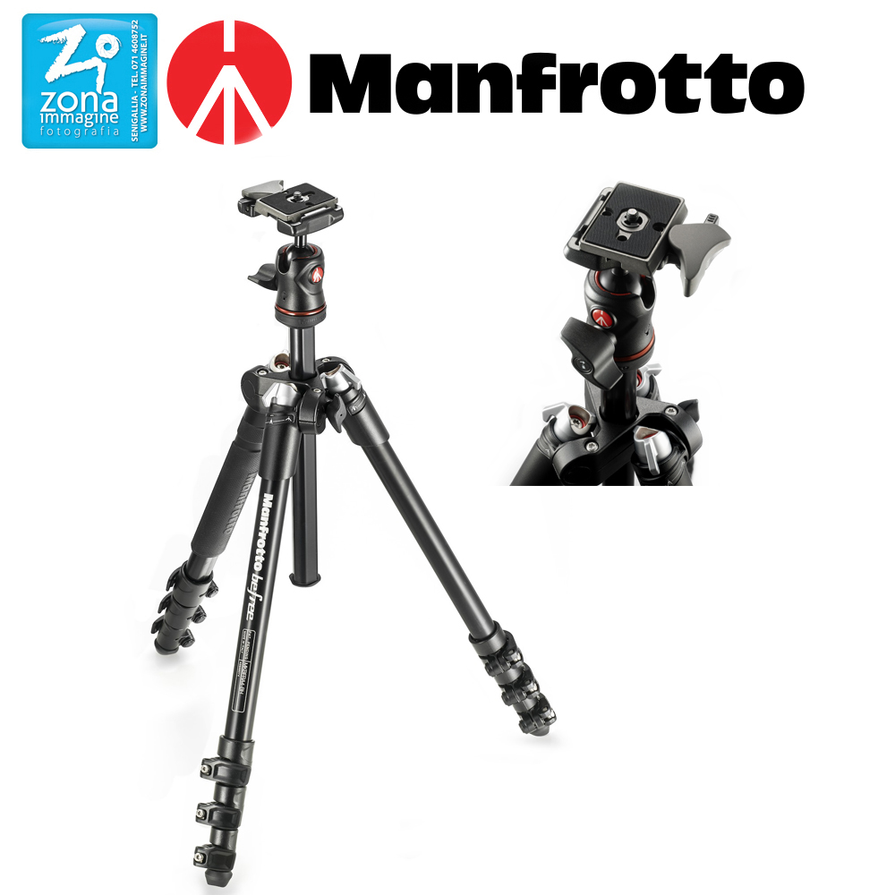 MANFROTTO BEFREE MKBFRA4-BH kit con testa