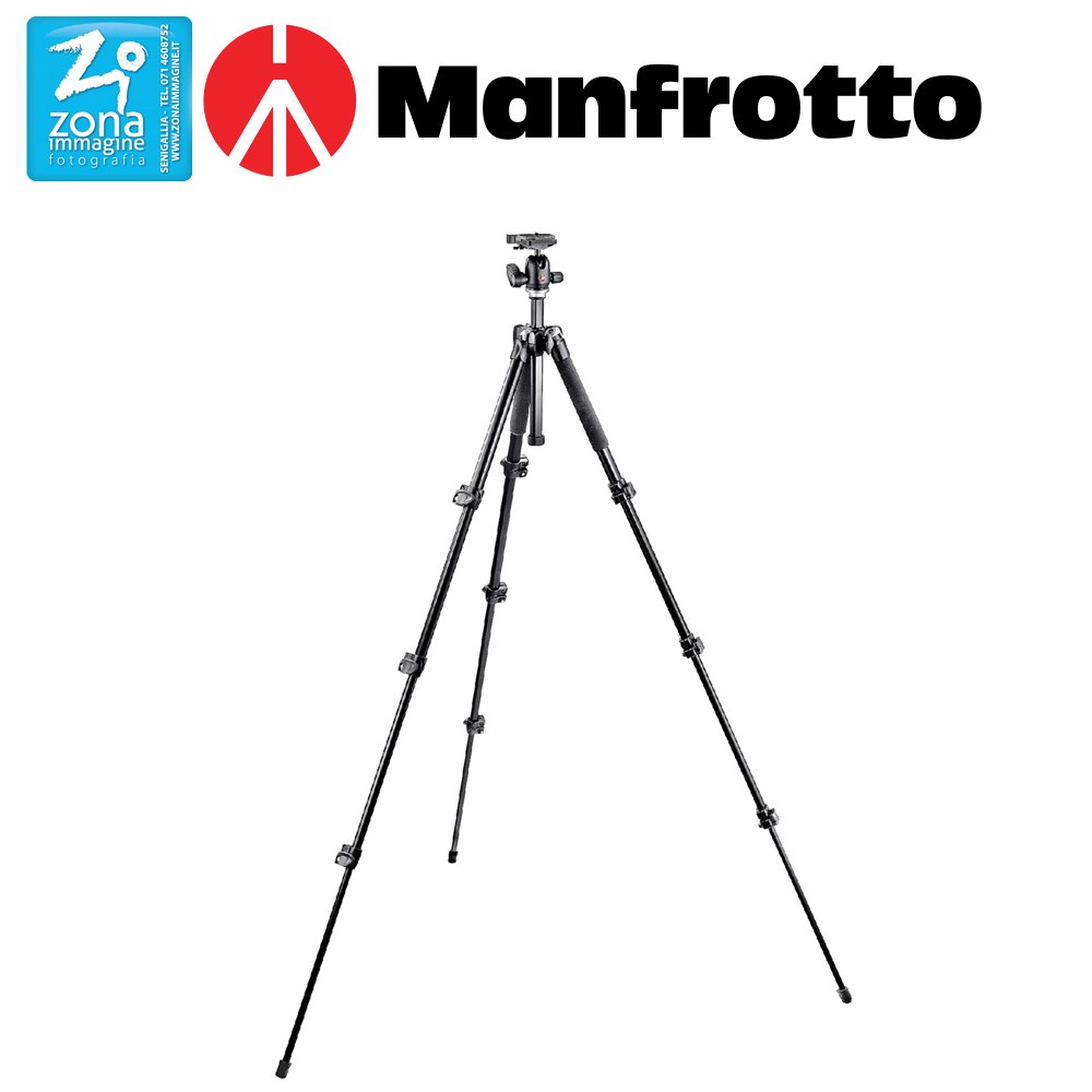 MANFROTTO Kit 293 testa a sfera RC2 MK293A4-A0RC2