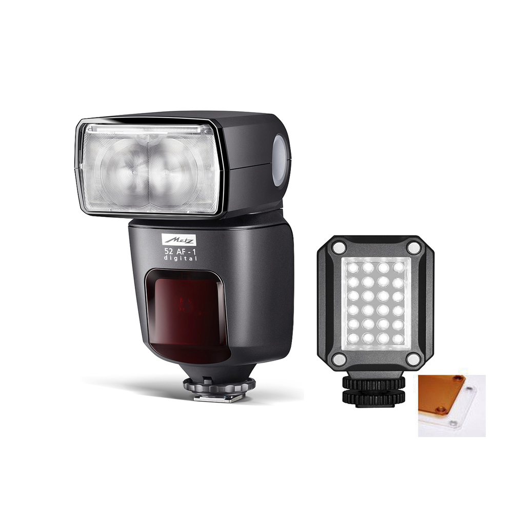 Kit Flash-Led Metz 52 AF-1 digital+Mecalight LED-160