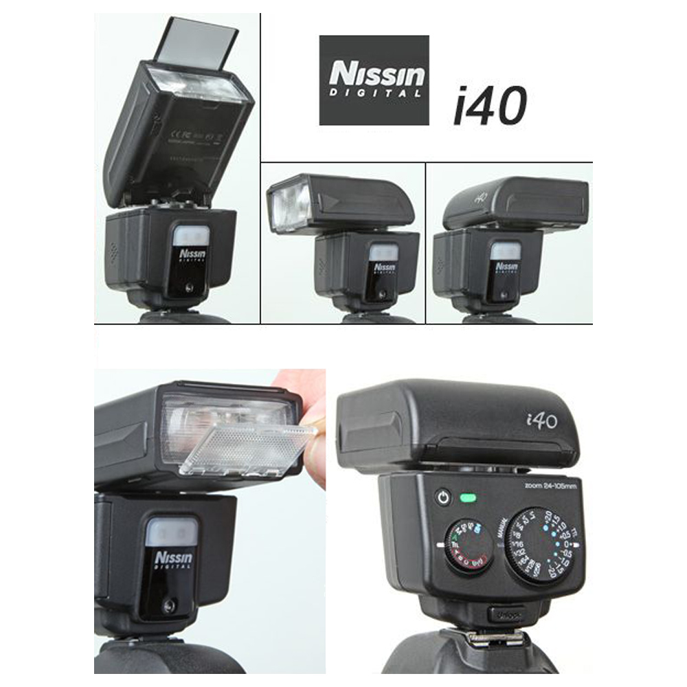 Flash Nissin i40