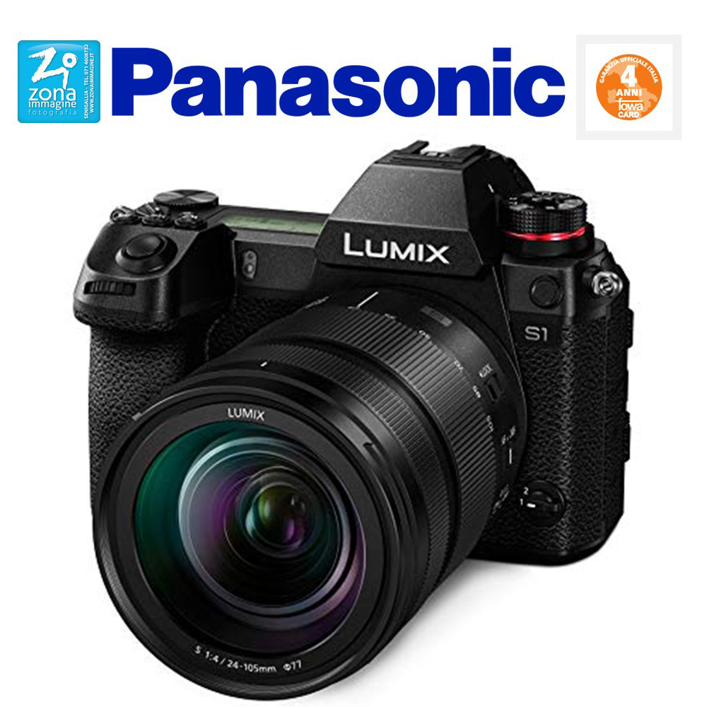PANASONIC LUMIX DC-S1 kit 24-105mm f4 OIS