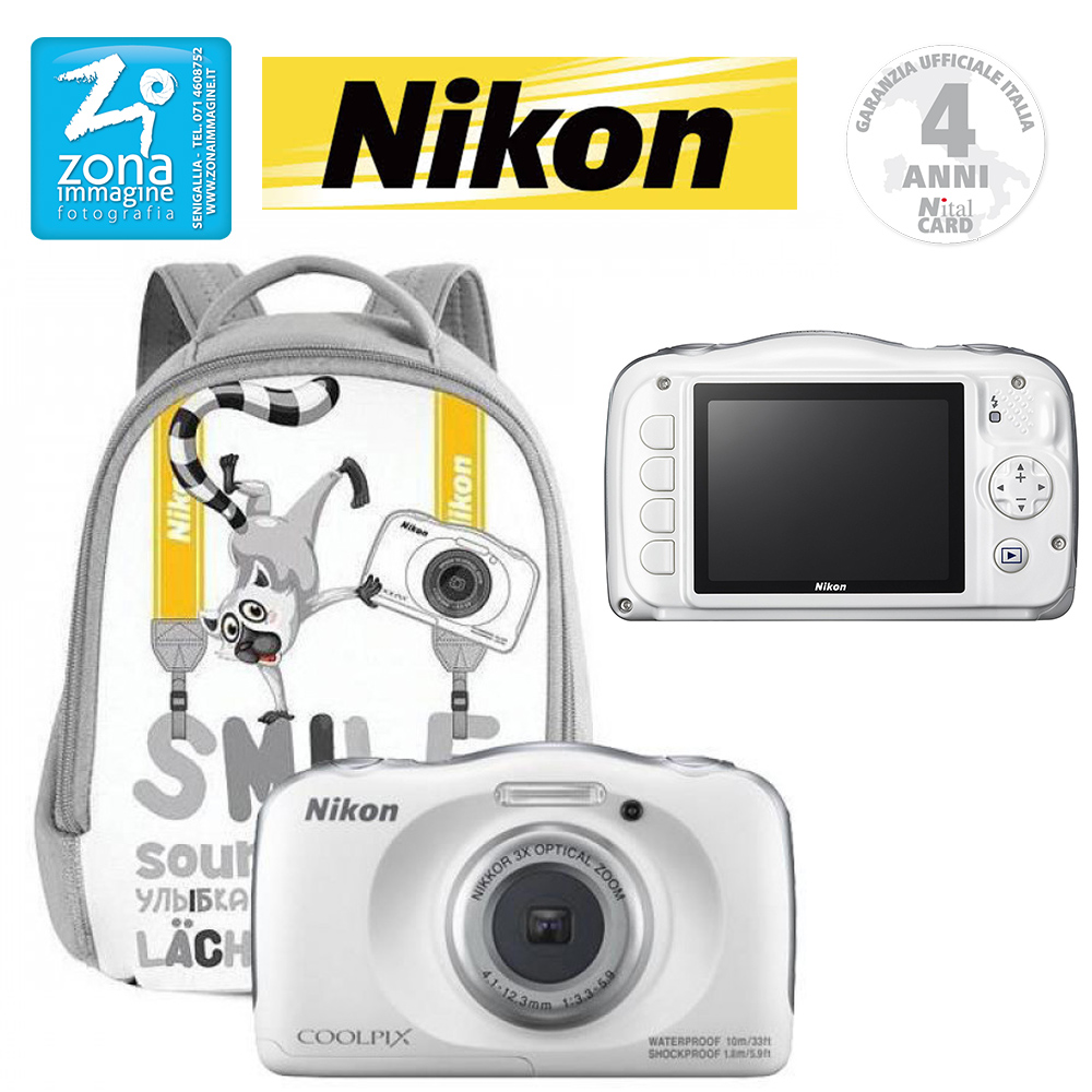 NIKON Coolpix W100 Family Kit