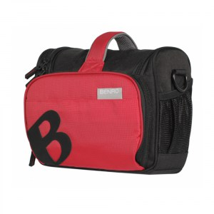 borsa Benro Xen Shoulder Bag L black/red