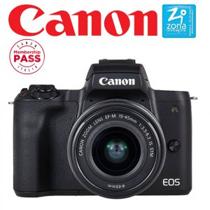 CANON EOS M50 + EF-M 15-45mm IS STM Kit