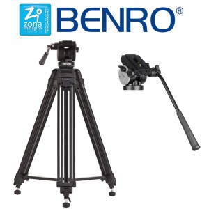 BENRO KH-25 Cavalletto Video con testa Video