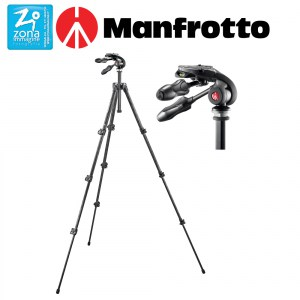 MANFROTTO Kit 293 testa 3 vie Q2