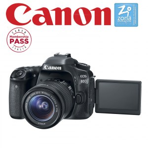 CANON 80D + EF-S 18-55mm IS STM