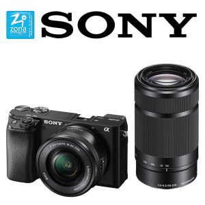 SONY A6100 kit E PZ 16-50mm f3.5-5.6 OSS + E 55-210mm f4.5-6.3 OSS