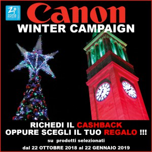 CANON WINTER CAMPAIGN