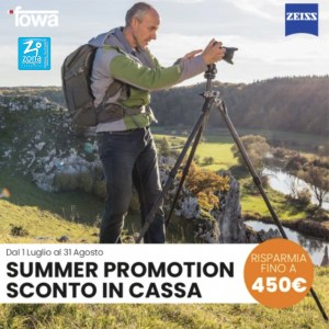 ZEISS SUMMER PROMOTION - SCONTO IN CASSA FINO A 450€